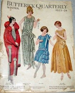 1920s Patterns Vintage Reproduction Sewing Patterns Retro Fashion Vintage 1920s Outfits Historical Clothing