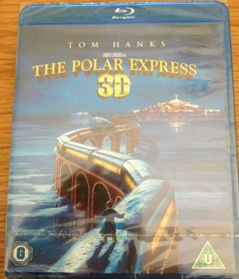 the polar express 3d blu ray