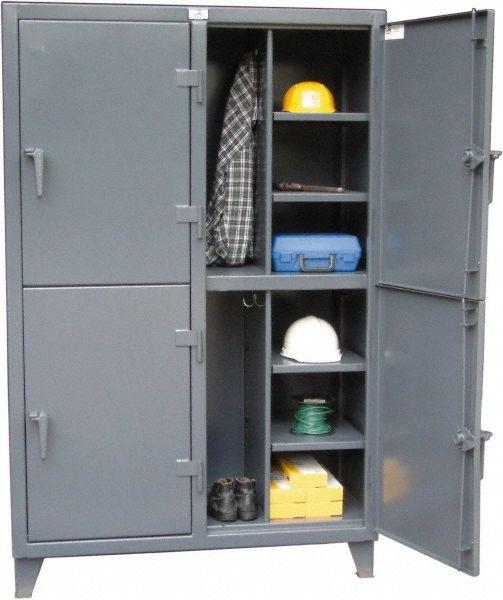 2 Tier 4 Door Steel Locker 99792657 Msc Locker Storage Lockers Industrial Lockers