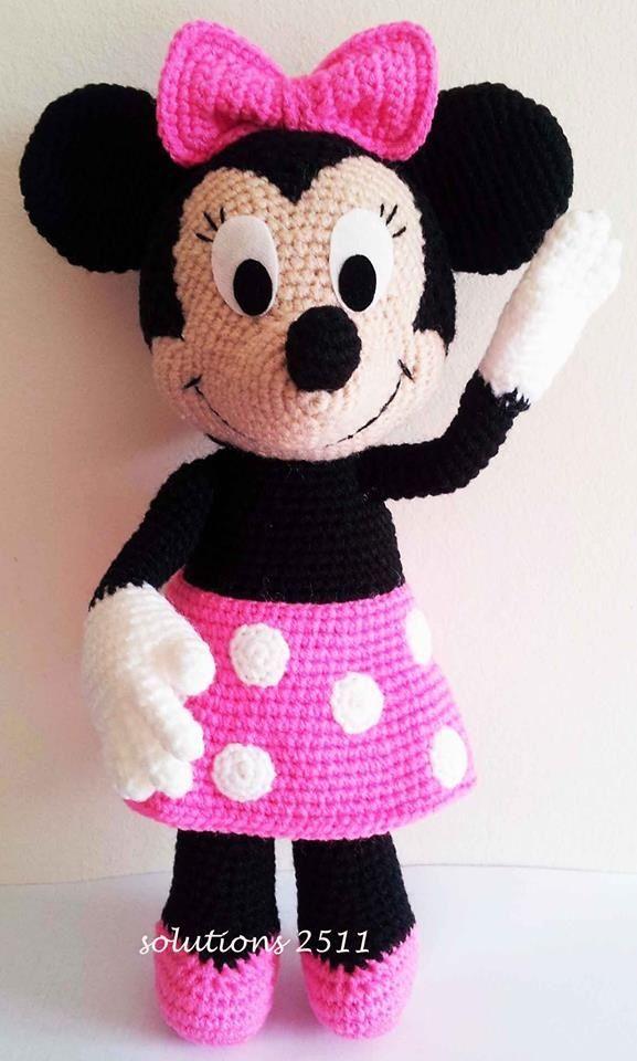MINNIE MOUSE amigurumi crochet pattern Disney Crochet | Etsy | 960x577