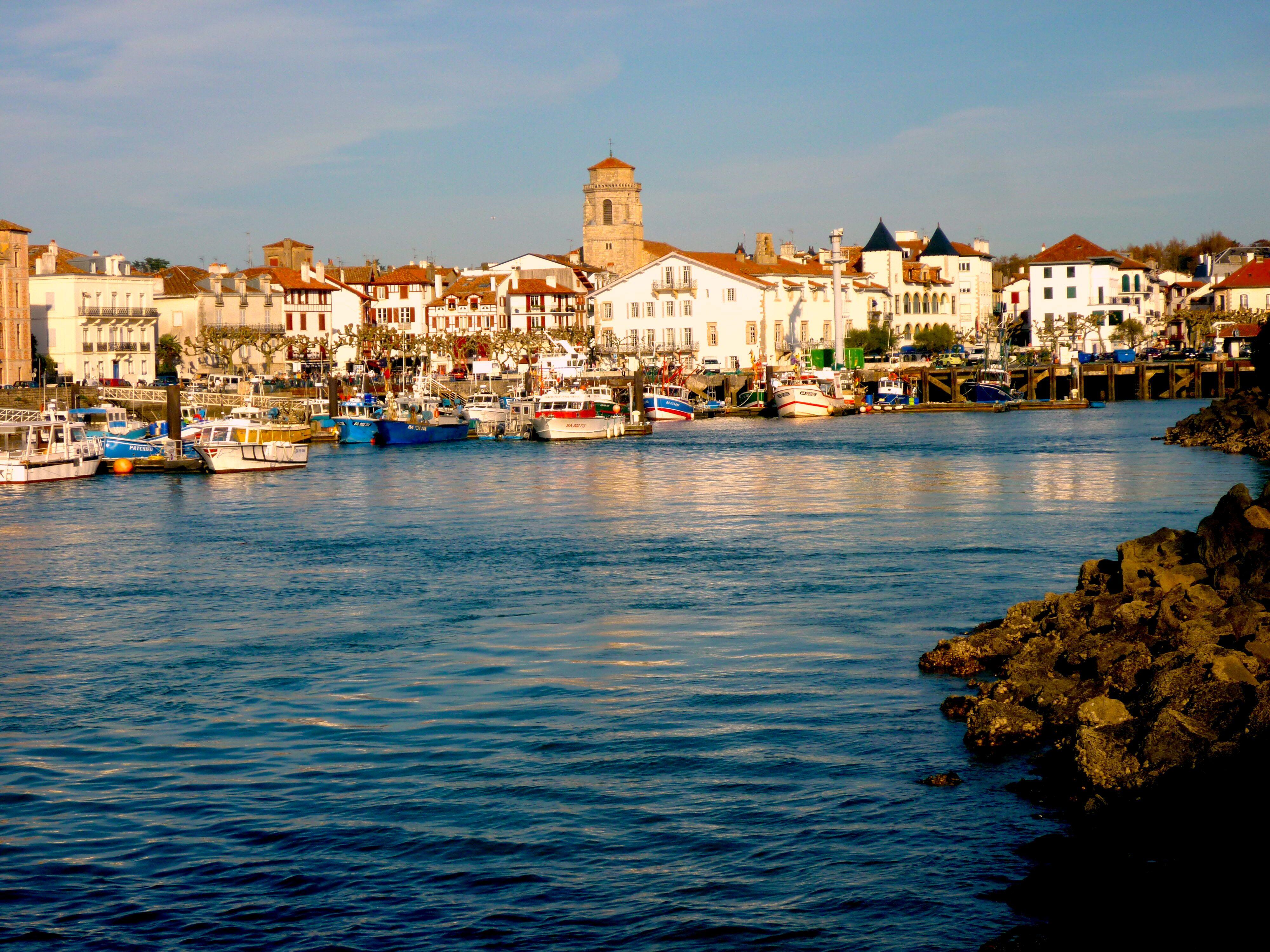 Saint Jean de Luz Basque country Aquitaine FRANCE pais vasco