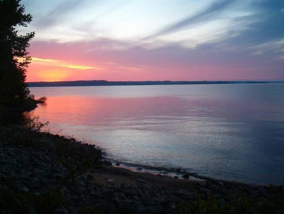 Kentucky Lake Sunset Dyersburg Photo Album Topix Beautiful Places To Visit Land Between The Lakes Lake Sunset