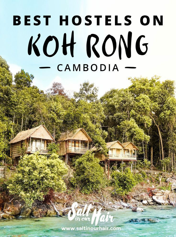 The best Guesthouses and Hostels on Koh Rong #kohrong #koh #rong #sanloem #kohrongsanloem #samloem #hostels #hotels #guesthouse #paradise #jungle #cambodia