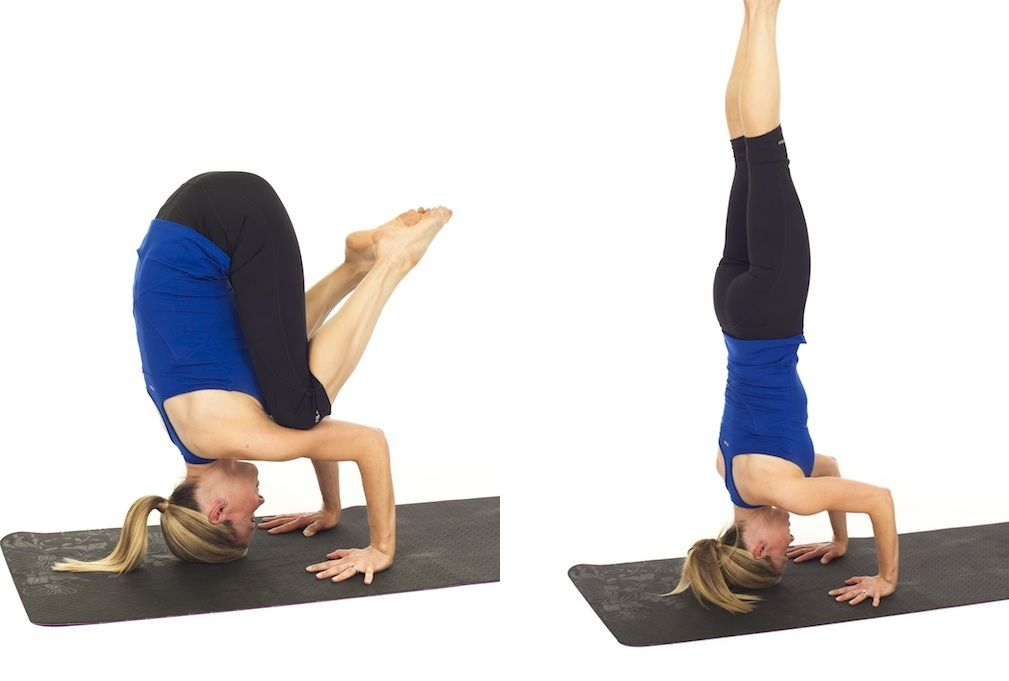 How To Do A Headstand Headstand Yoga Headstand Fit Board Workouts