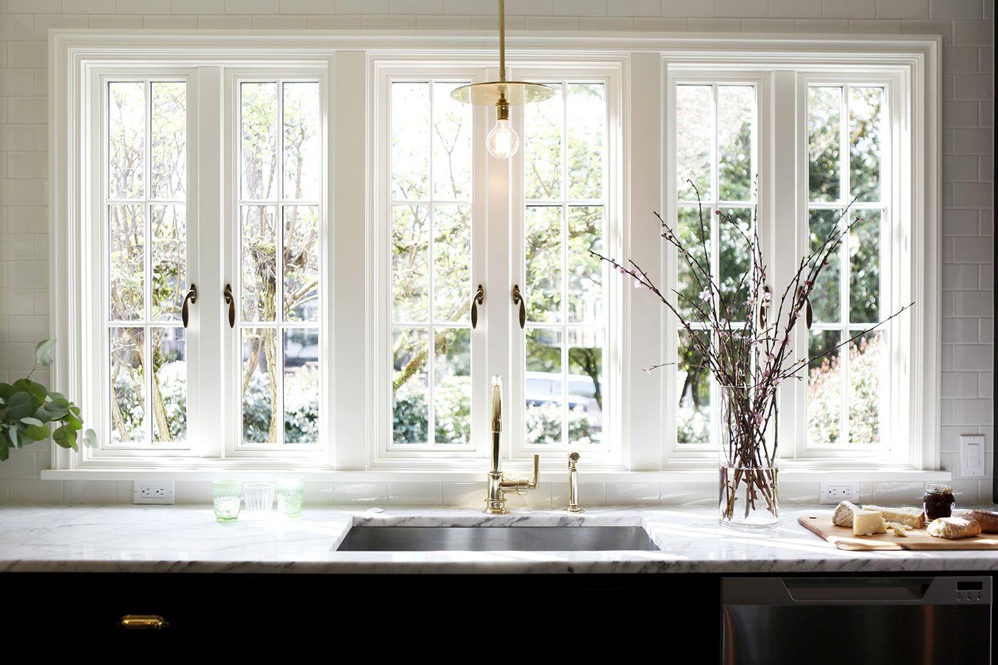 Timeless Cottage H2 Design Build Kitchen Sink Window Cottage Kitchen Design Modern Cottage