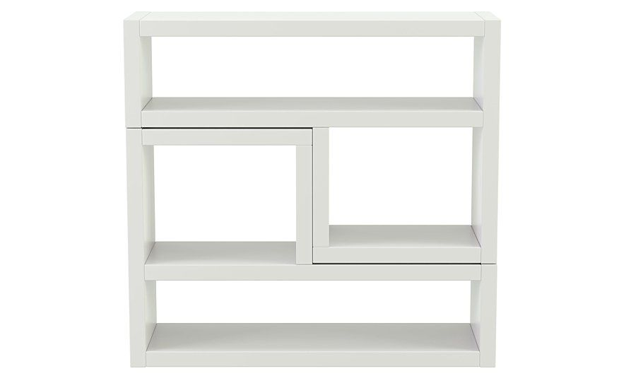 George Home Leighton L Unit - White, read reviews and buy online at ...