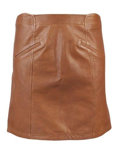 Chloe leather mini skirt