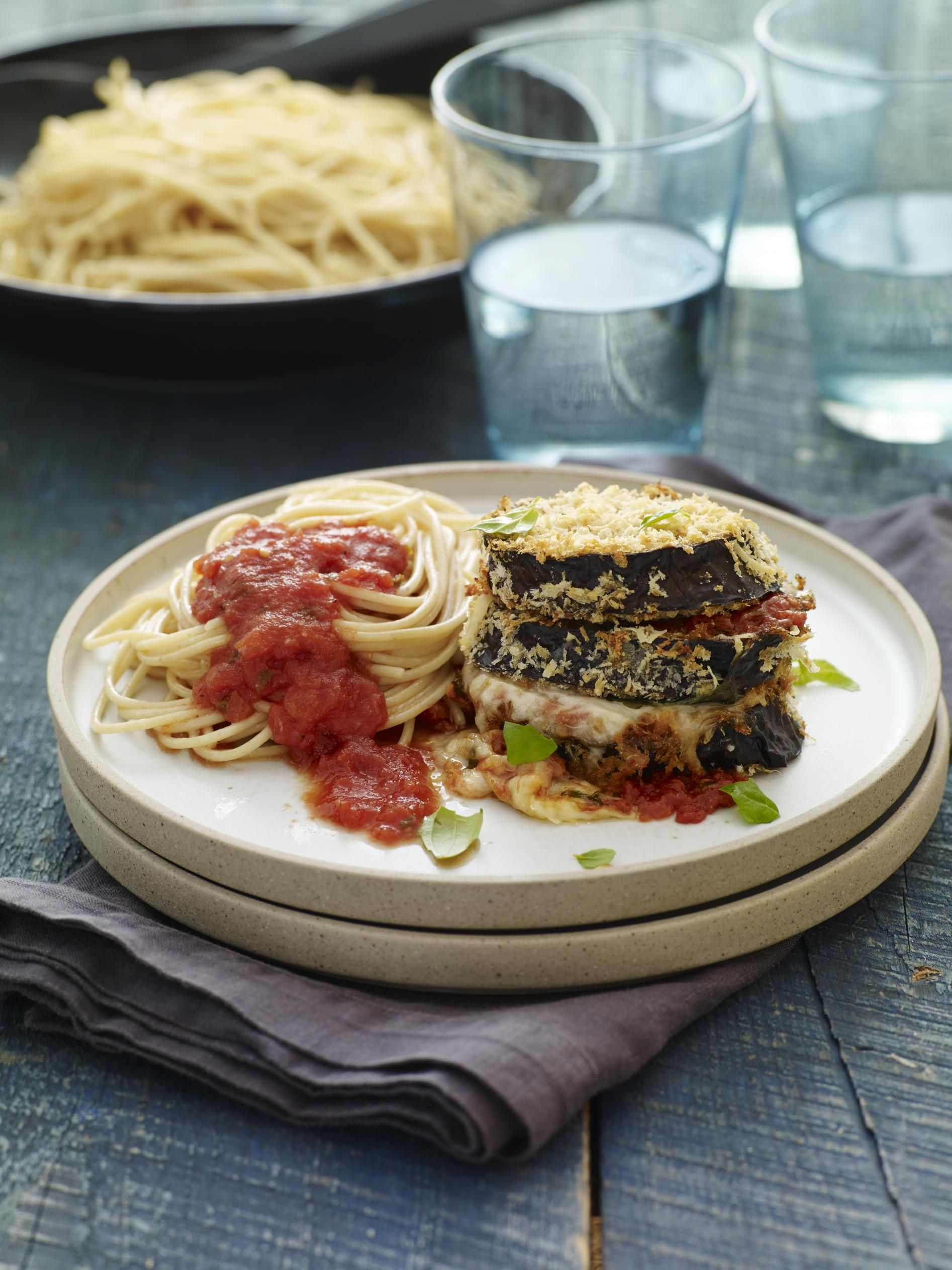 Lightened Up Eggplant Parmesan Recipe picture