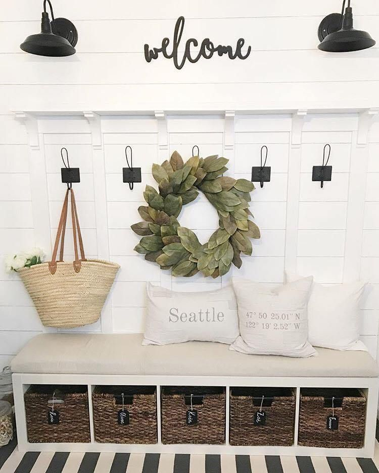 Best Etsy Home Decor Shops Beauty For Ashes Diy Mudroom Bench Home Decor Shops Ikea Diy