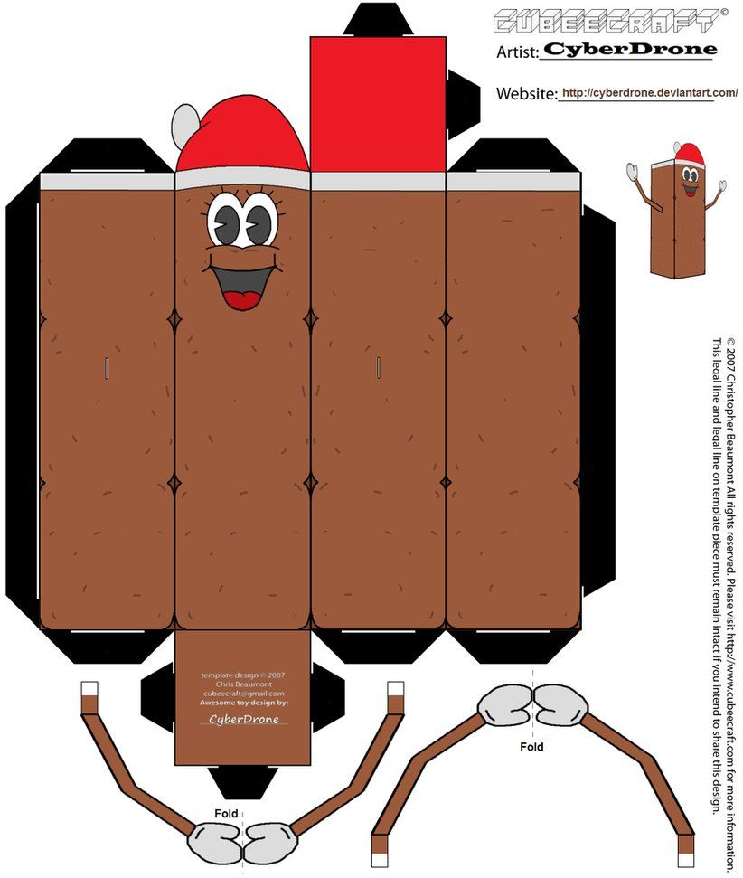 My Custom Cubeecraft Papercraft Cutout Template Of Mr Hankey The Christmas Poo From South Park This Is Part A Series Cubees I Made For