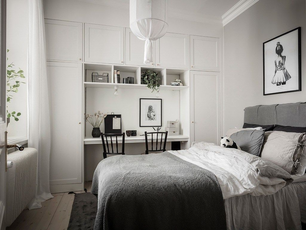 Light and elegant home in 2020 Rustic bedroom design