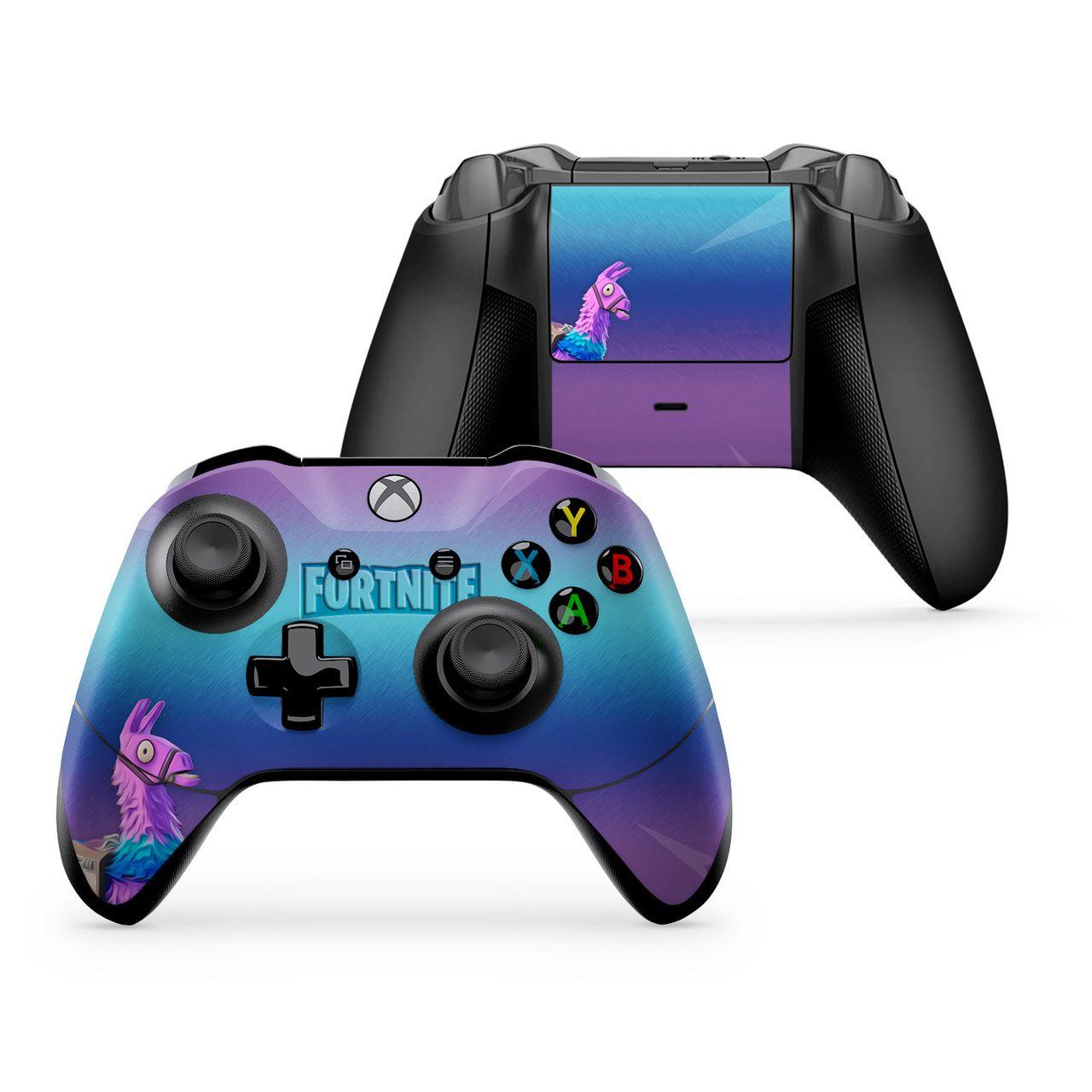 Loot Llama Xbox One X S Controller Skin Custom Xbox One Controller Xbox One Controller Custom Xbox