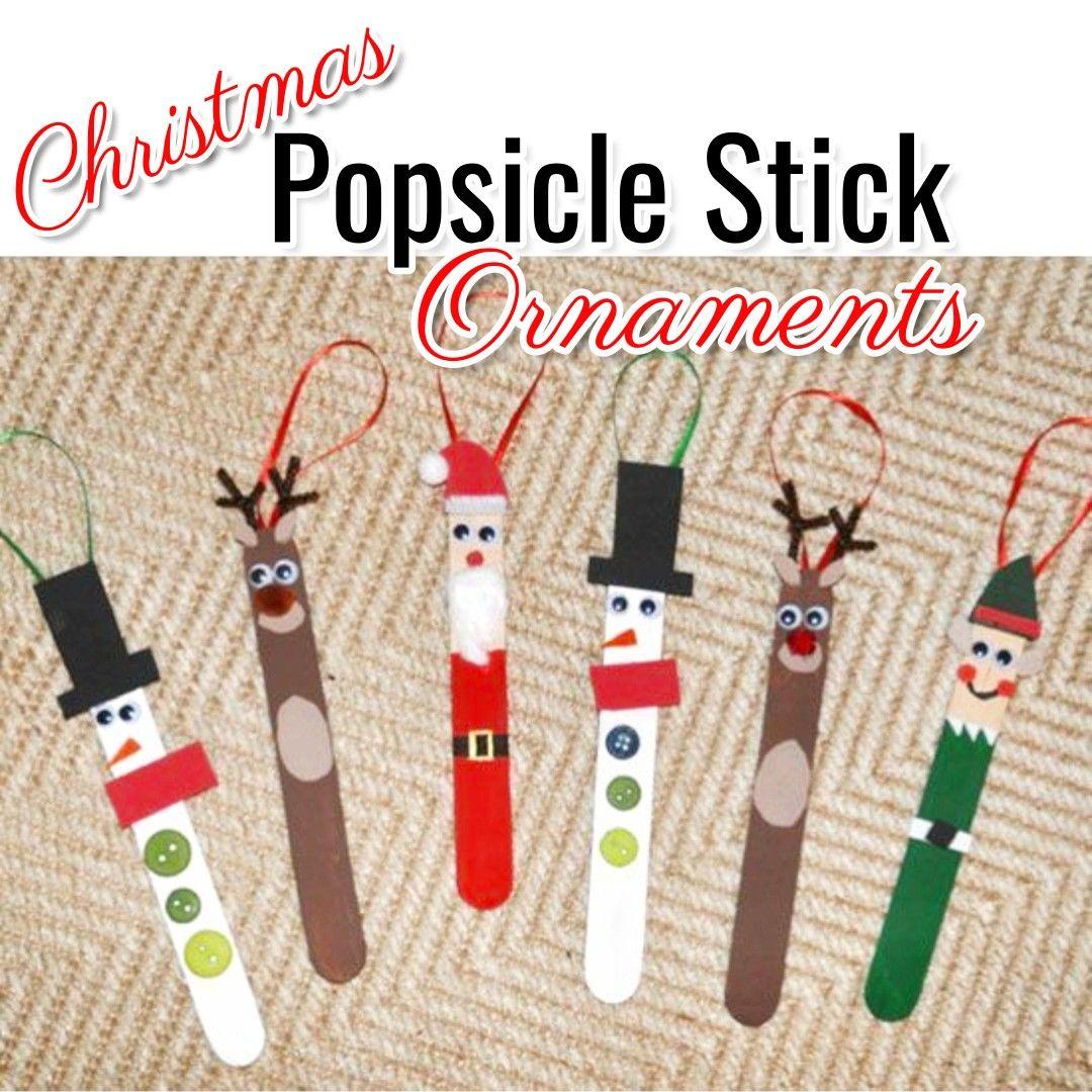 11+ Popsicle stick xmas crafts info
