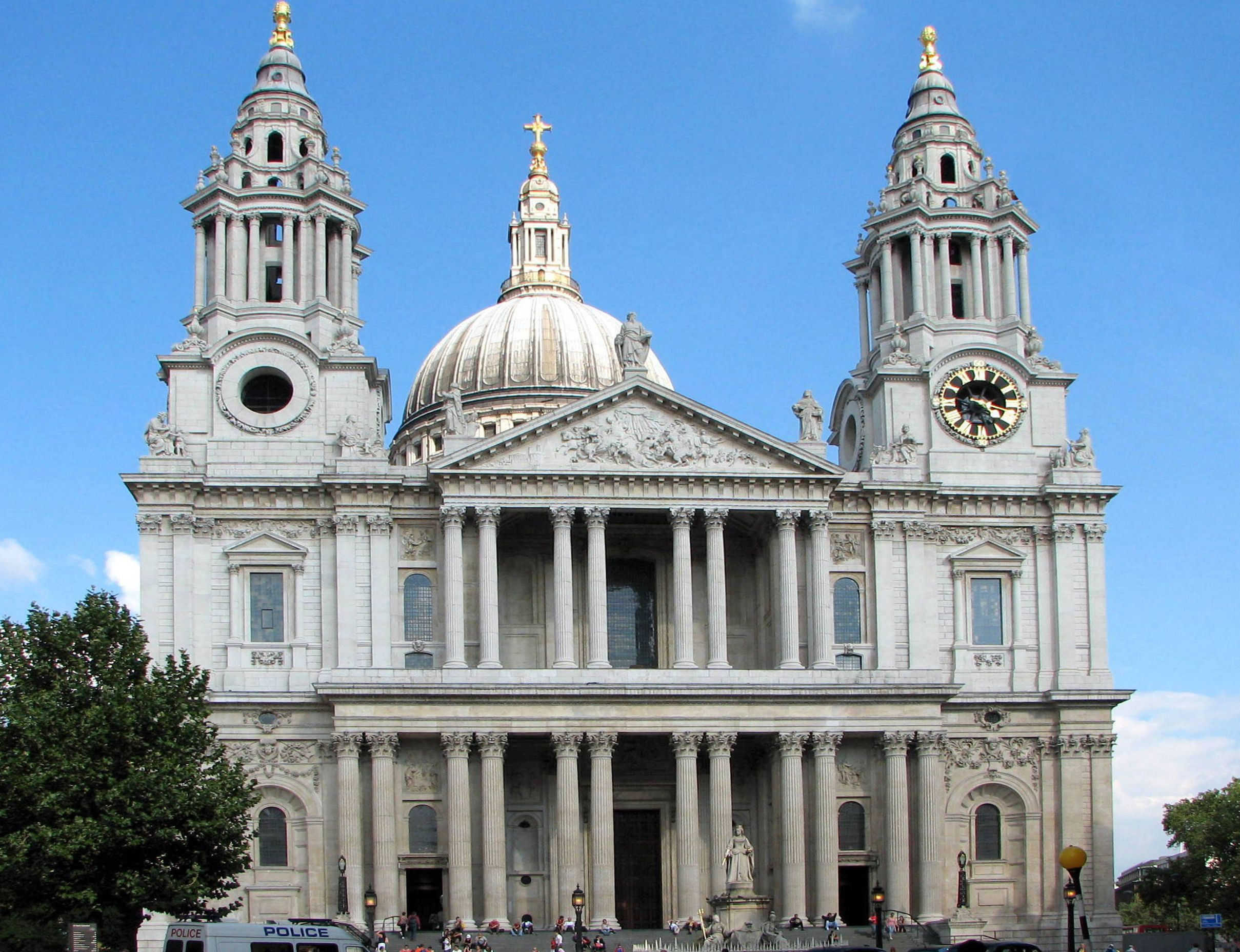 St pauls cathedral sir christopher wren