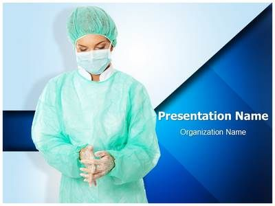 Surgeon PowerPoint Presentation Template is one of the best - nursing powerpoint template