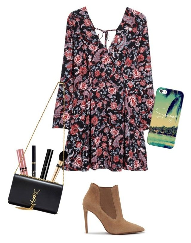 """""""Simple Boho Vibe"""" by sharon-sw ❤ liked on Polyvore featuring MANGO, Ralph Lauren, NYX, Yves Saint Laurent, Chanel, Too Faced Cosmetics and Casetify"""