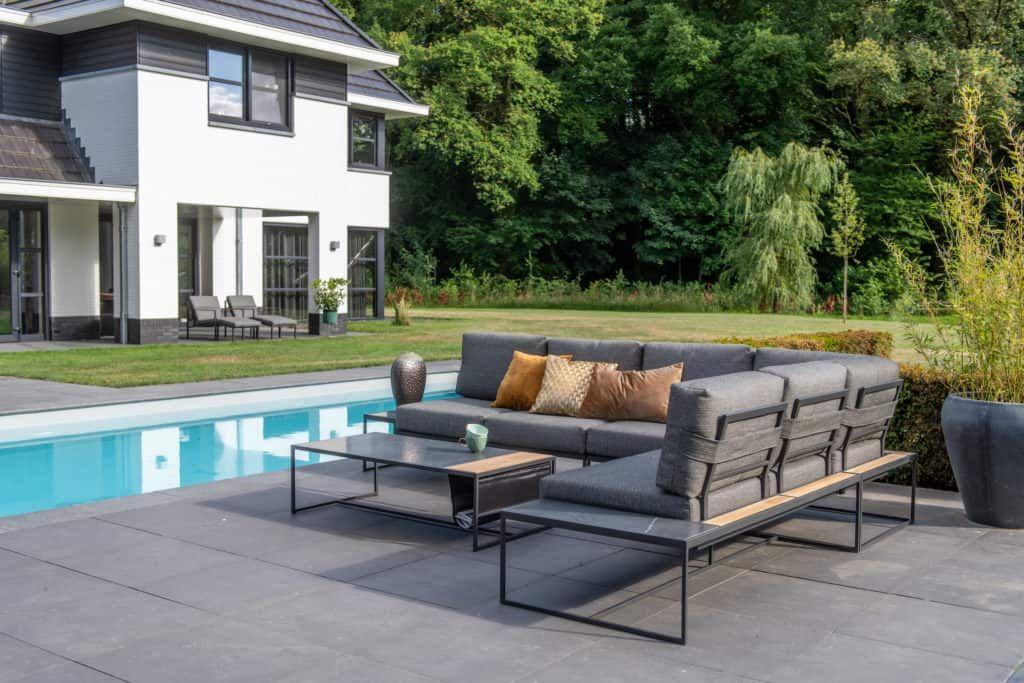 Siena Outdoor Corner Sofa Set In 2020 Garden Sofa Set Outdoor Garden Furniture Outdoor