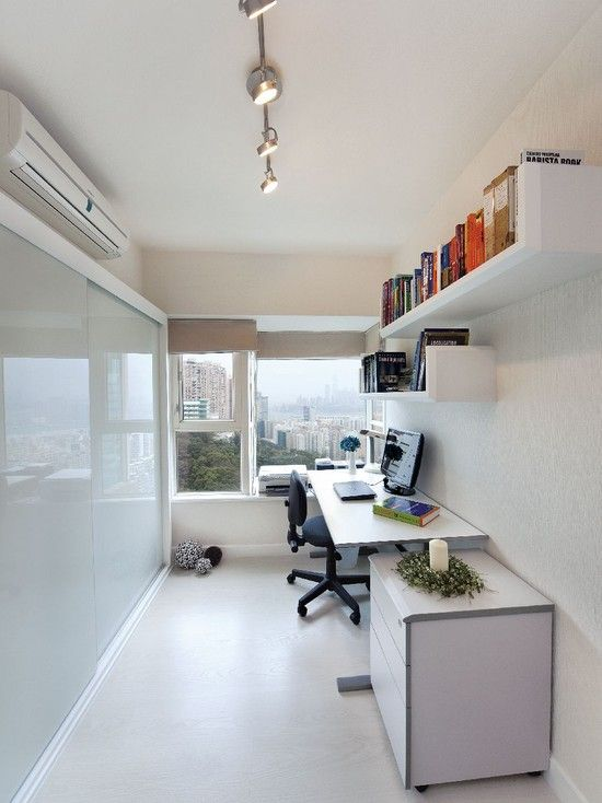 Small Modern Office Furniture Ideas