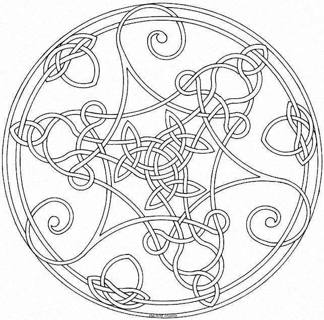 A Few Parchment Craft Mandala Patterns Shapes Celtic mandala and