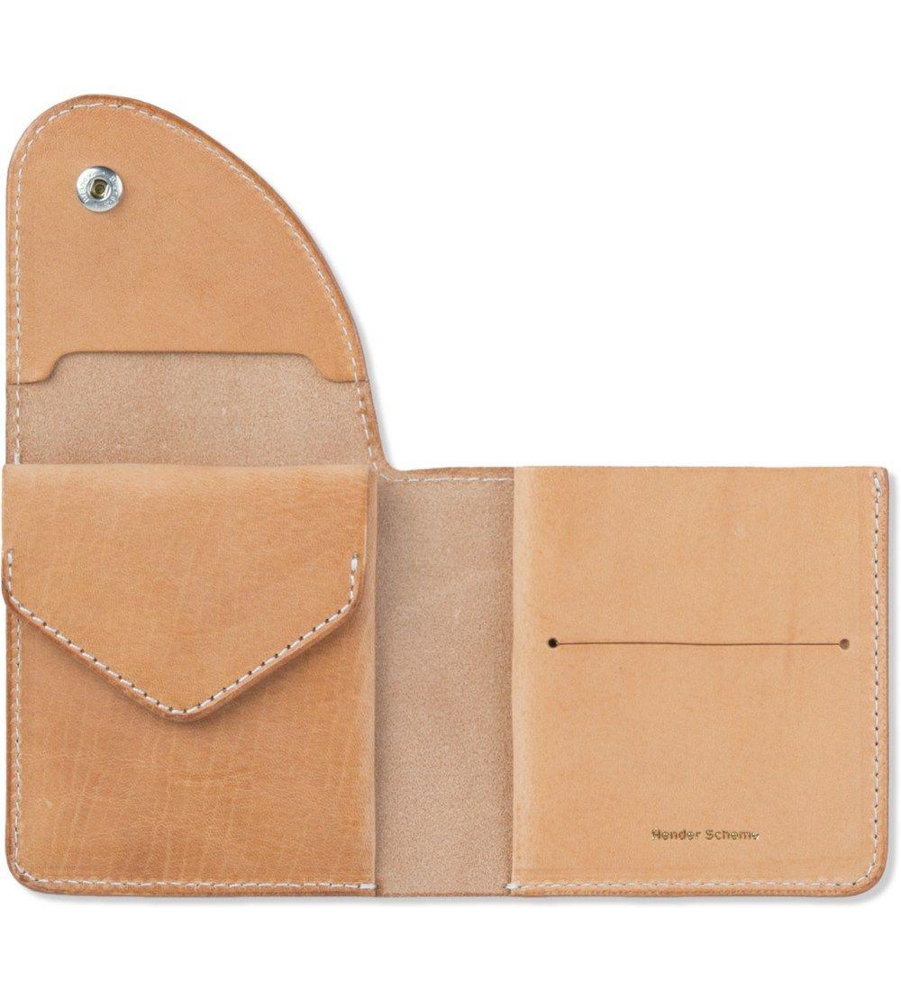 Hender Scheme Natural Leather Wallet