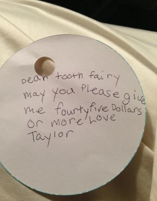 Dear tooth fairy | Tooth fairy, Funny kids, Kids