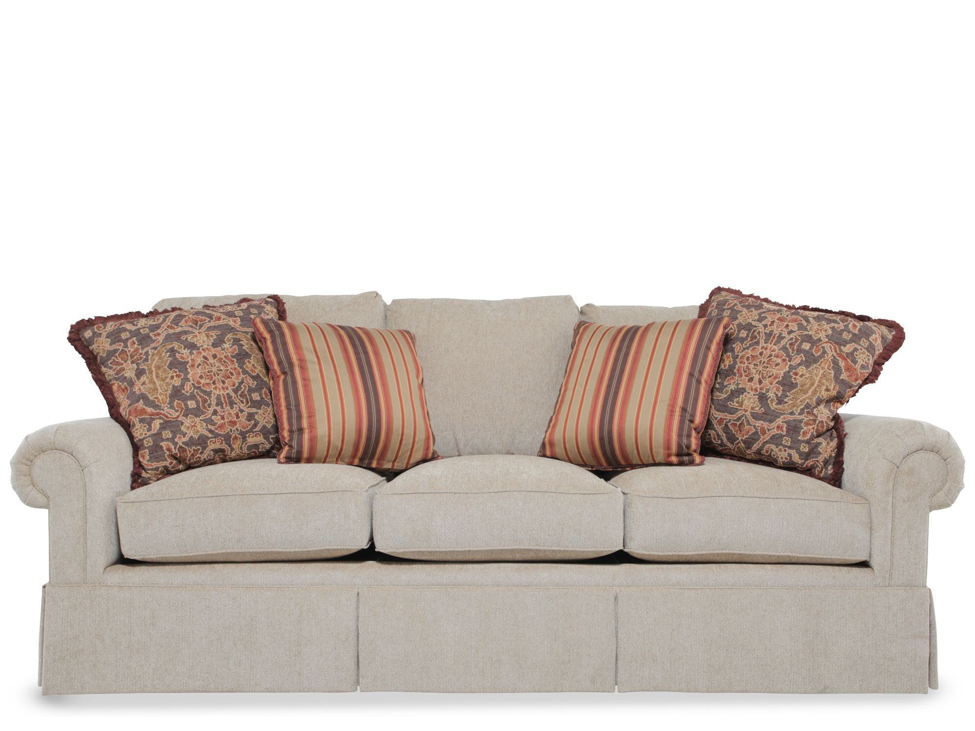 a traditional masterpiece from henredon this fireside sofa is rh pinterest com