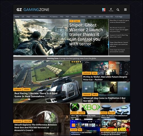 20 Beautiful Gaming WordPress Themes