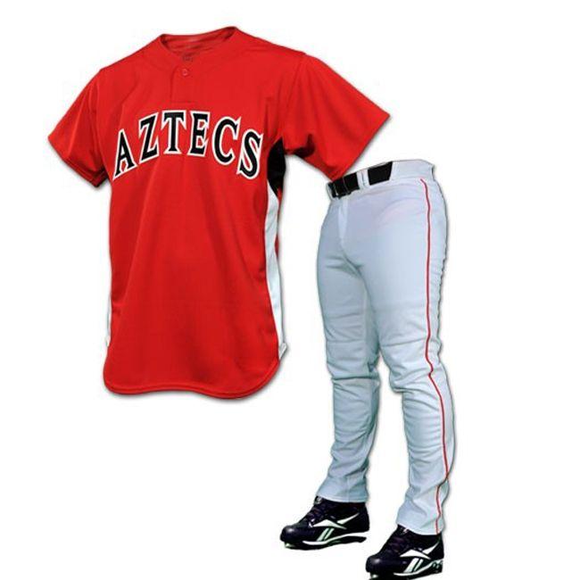 1c4be57e5 Baseball Uniform MS-1015 Size  S M L XL XXL Colours  Red