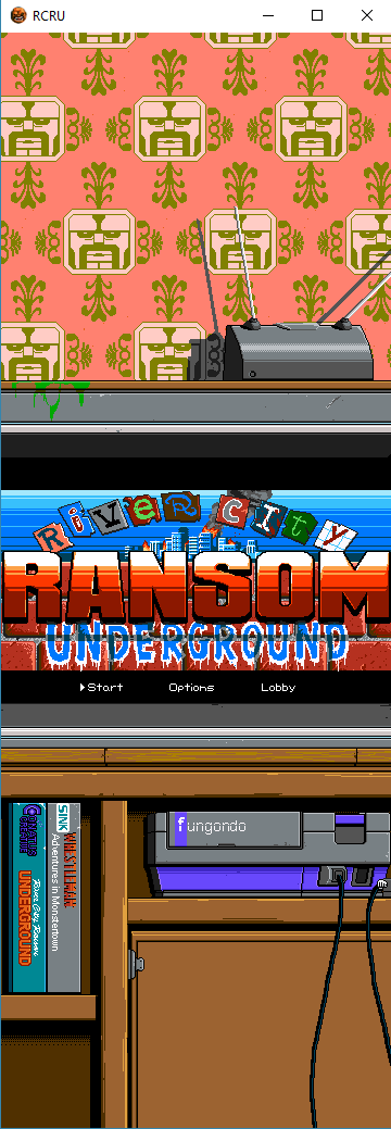 River City Ransom Underground Windowed Mode And Skinny Fungondo Rcru And Monstertown Ransom River