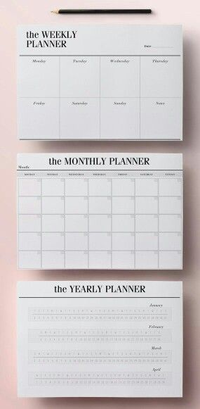 What u prefer weakly planer/month or year?? Planner Pinterest