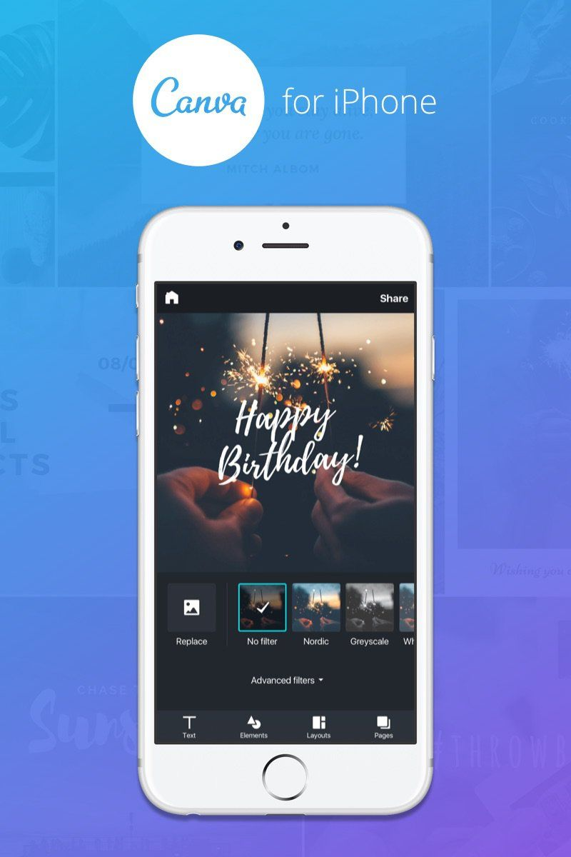 Canva iPhone app – Professional designs on the go