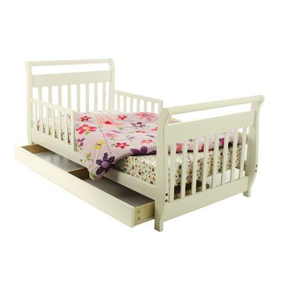Toddler Sleigh Bed With Drawers Toddler Bed With Storage