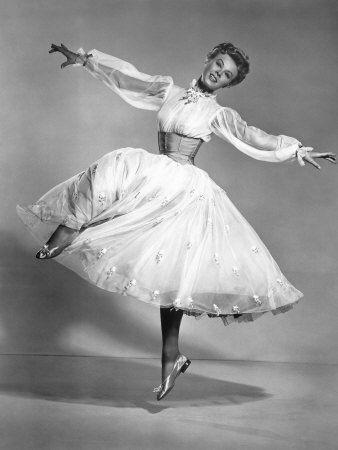 Verra Ellen 18 Inch Waist Amazing Dancer And In White Christmas Role Model Vera Ellen New York Canvas Old Hollywood