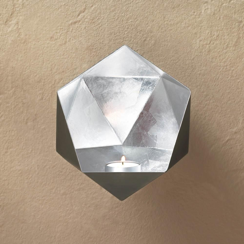 This wall sconce is a modern marvel of fantastic design ...