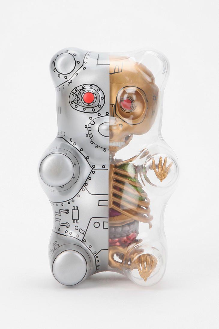 A must have for geek lovers: Gummi Bear Anatomy Figure ...