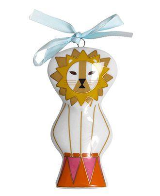 Jonathan Adler Christmas Ornament, Circus Lion - All Christmas Ornaments - Holiday Lane - Macy's