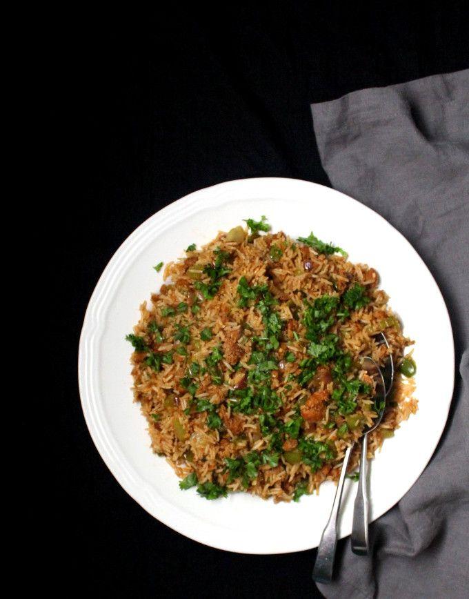 Vegan Dirty Rice #seasonedricerecipes