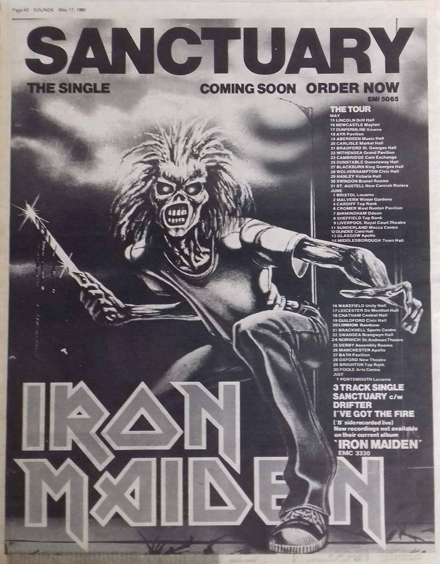 Pin by Eric B on music stuff in 2019 | Iron maiden band