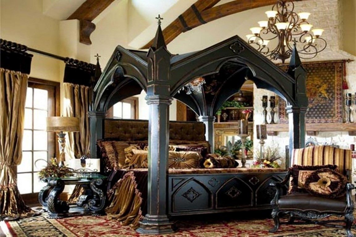Elelgant Gothic Bedroom Set  Nesting  Pinterest  Black Bedroom Stunning Gothic Bedroom Furniture Decorating Inspiration