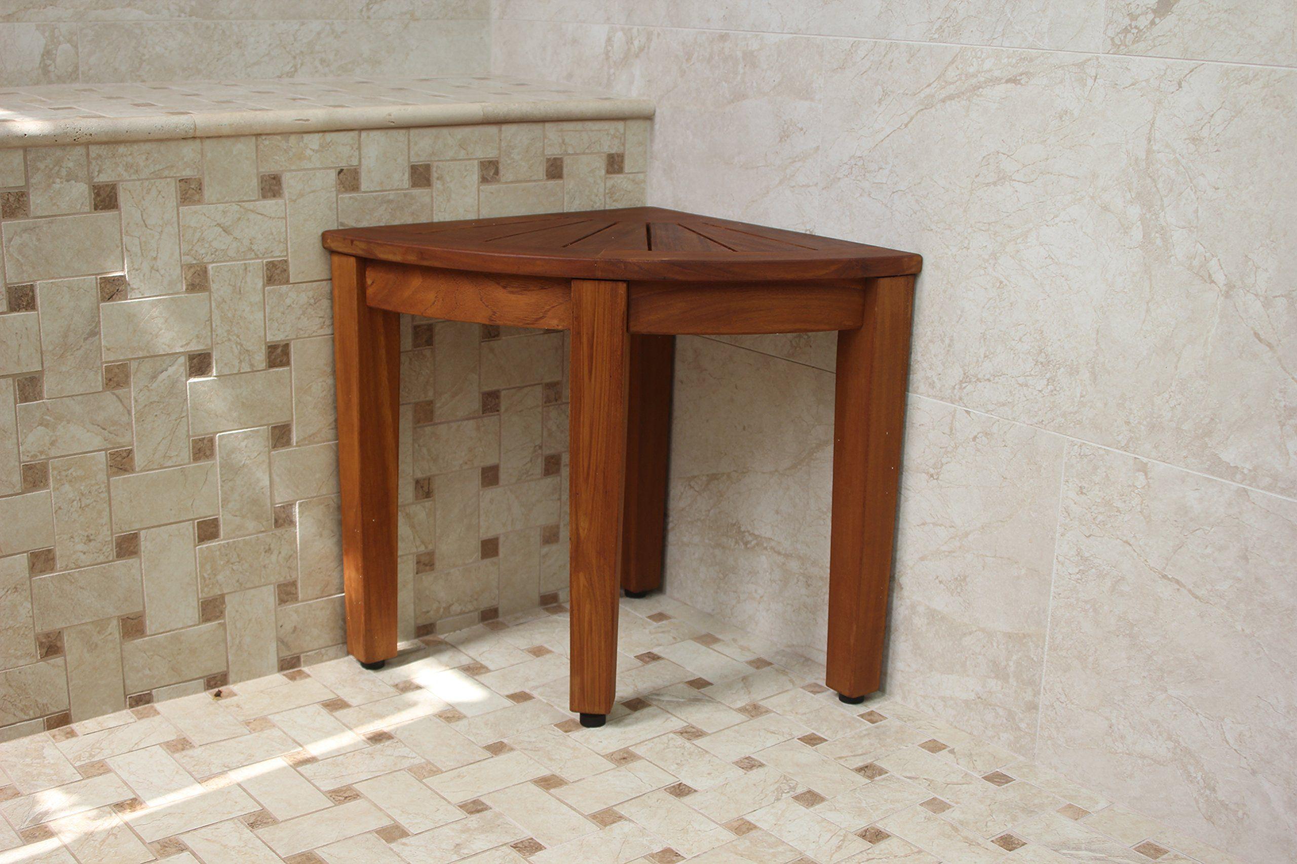 teak shower chair amazon