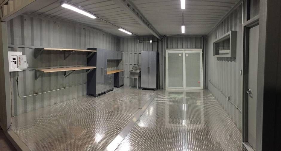 Image Result For Using Shipping Container As A Garage