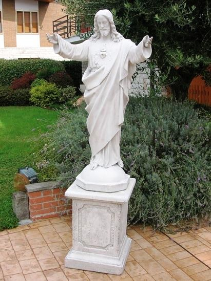 Charming Italartworld  Maker Of Large Jesus Statue CHRIST THE REDEEMER STATUE  SCULPTURE Importer Of Catholic Religious Statuary From Italian Statue  Producer Of ...