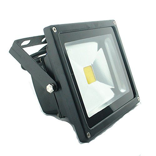 Quans 20w 12v 24v Ac Dc Ultra Bright White Led Security Wash Flood Light Floodlight Lamp High Power Black Case Waterpr Bright White Led Flood Lights White Lead