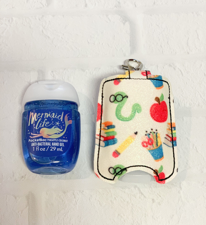 Tie Dye Sanitizer Holder Tie Die Sanitizer Holder Hand Sanitizer Keeper Hand Sanitizer Keyring