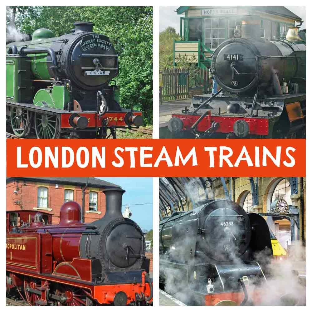 Kids Love Trains Check Out All The Places They Can Ride Steam Right Here In London