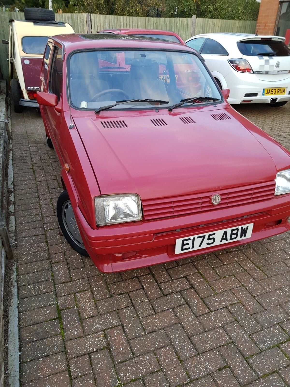 This Mg Metro Turbo Project Spares Or Repair Barn Find Rare Mini