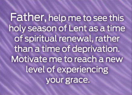 A Lenten prayer from Guideposts   Lenten season quotes, Lenten quotes, Lent  prayers