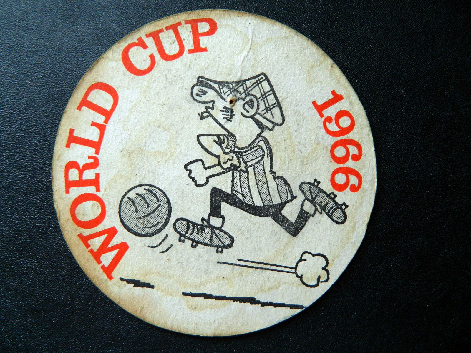World Cup 1966 Beermat Andy Capp. Produced by Daily