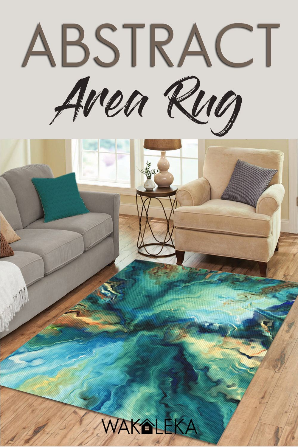 Modern Abstract Area Rug Dobby Textured Rug 3x5 4x6 5x7 In