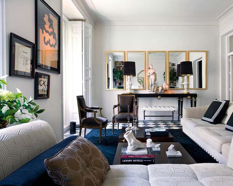 La casa del interiorista Raúl Martins Salón, Decorar salon y - salones de lujo